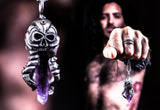 OctoSkull pendant - Unrestrained Jewelry  - 4