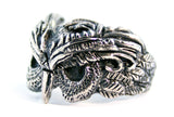 Sterling silver owl ring by RBZ Jewelry