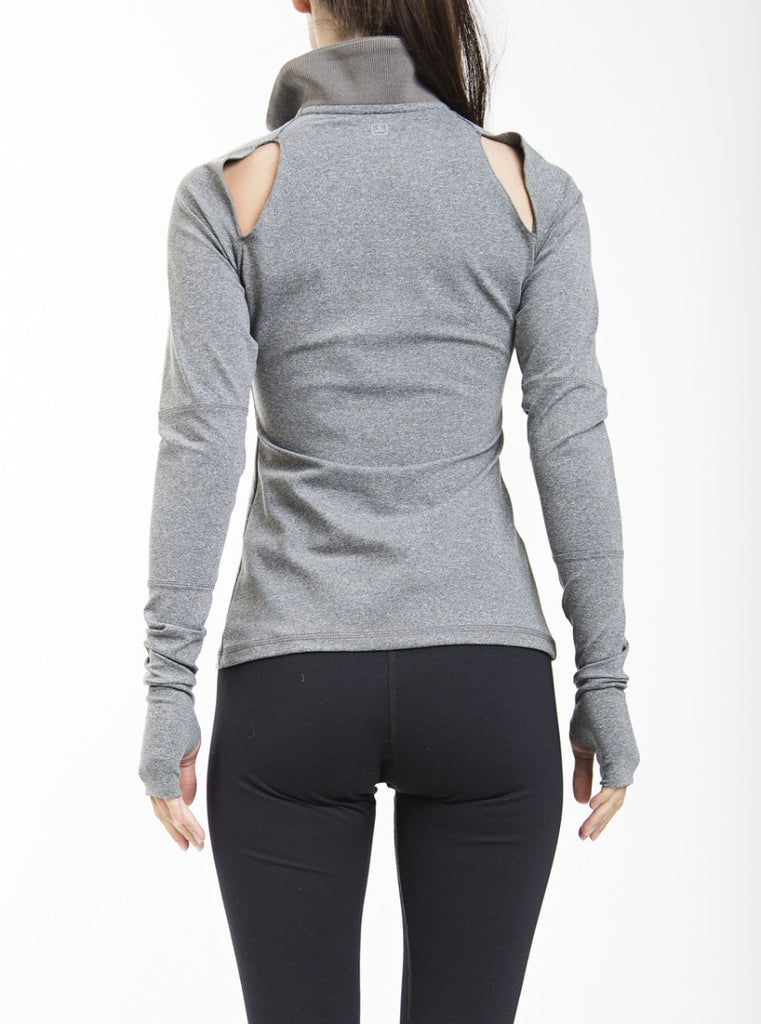 Dahlia Long Sleeve - Grey