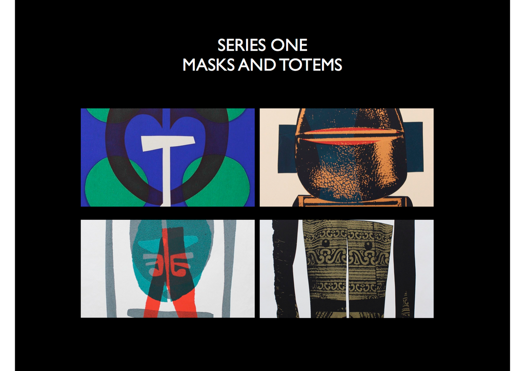 Masks and Totems- Ron King Studio
