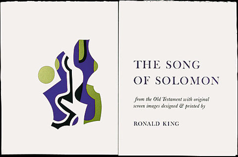 Song of Solomon Series:  The Song of Solomon - Reproduction Book