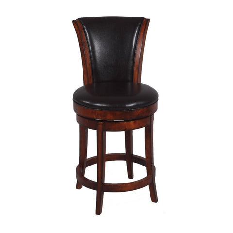 "Chintaly Imports 26"" Swivel High Back Counter Stool"