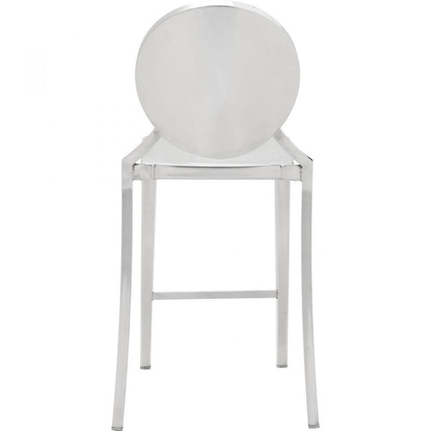 Set of 2 Zuo Eclipse 24  Counter Chair Stainless Steel - Bar Stool Co  sc 1 st  Bar Stool Co. - Shopify & Lowest Price - Zuo Eclispe 24