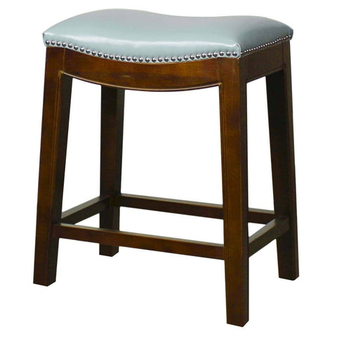New Pacific Direct Elmo 25 Bonded Leather Counter Stool Cinnamon