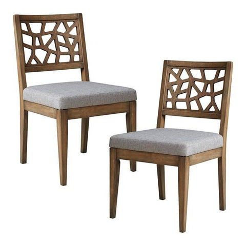 Ink + Ivy Crackle Dining Chair (Set of 2)