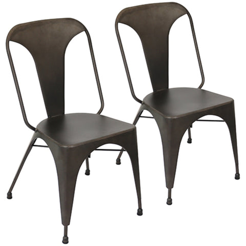 Set of 2 - LumiSource Austin Dining Chair