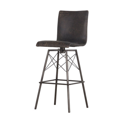 "Four Hands Diaw 31"" Bar Stool - Black"