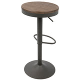 Set of 2 - LumiSource Dakota Adjustable Bar Stool