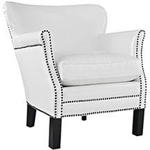Modway Key Faux Leather Armchair