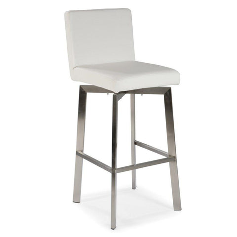 Moes Home Giro 26 Counter Stool In White