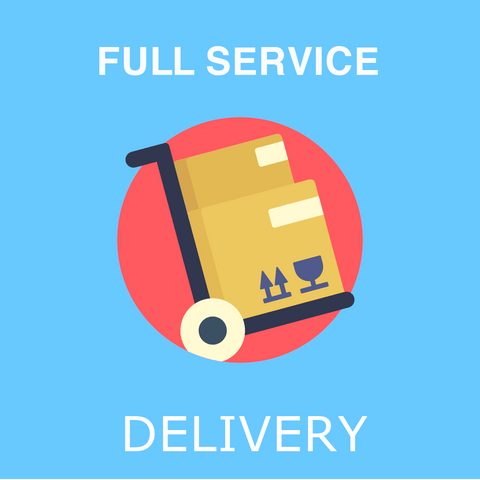 Full Service Delivery + Assembly
