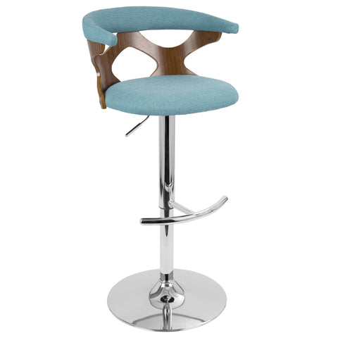 LumiSource Gardenia Adjustable Bar Stool