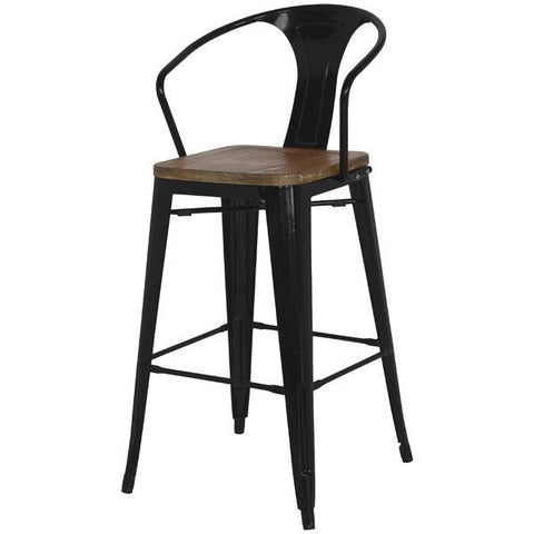 metal new direct back seat indoor quot amazon com with outdoor metropolis wood bar dp low stool pacific