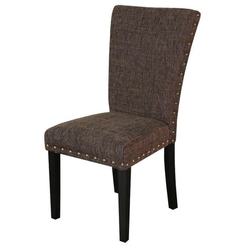 Set of 2 Monsoon Adorno Upholstered Berry Patch Linen Dining Chairs - Bar Stool Co.
