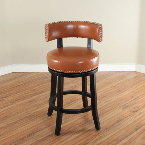 Monsoon Mossoro Swivel Leather Counter Stool : leather counter stool - islam-shia.org