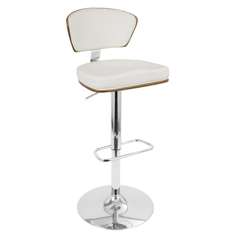 LumiSouce Ravinia Adjustable Bar Stool