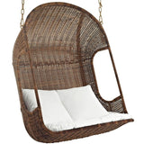 Modway Vantage Outdoor Patio Swing Chair With Stand