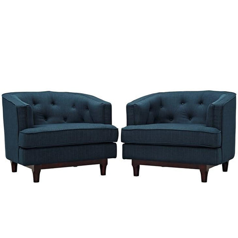 Modway Coast Armchairs Set of 2