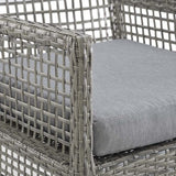 Modway Aura Outdoor Patio Wicker Rattan Dining Armchair