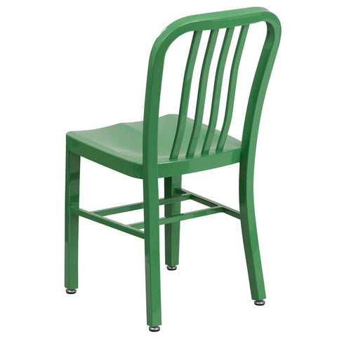 Metal Dining Chairs Industrial flash furniture industrial indoor - outdoor metal dining chair
