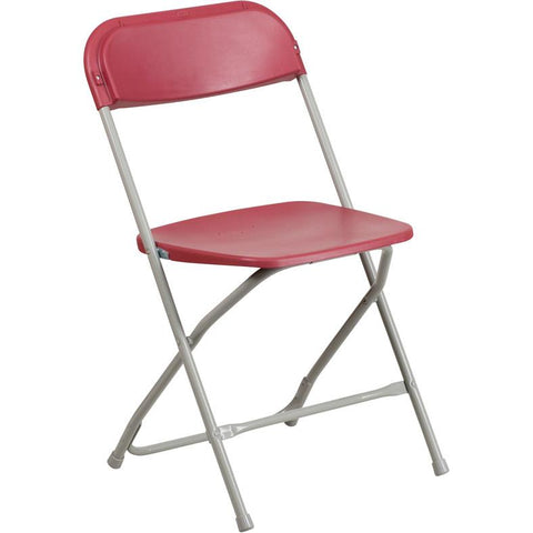 Set Of 10 Hercules Series Premium Plastic Folding Chairs   Bar Stool Co.