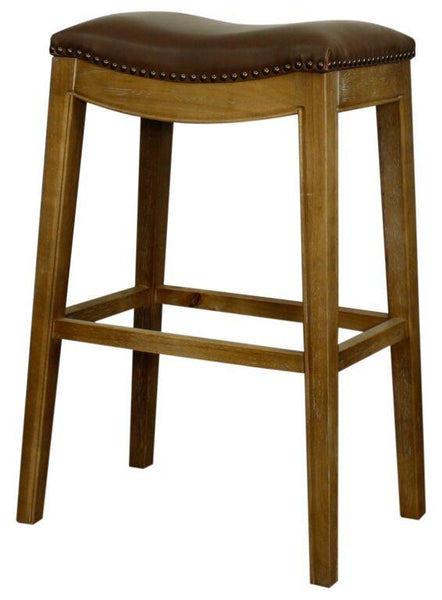 New Pacific Direct Elmo 31 Quot Bonded Leather Bar Stool