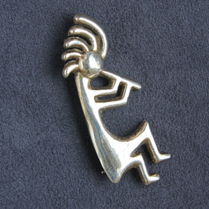 Atkinson Trading Kokopelli brooch - Flotsam from Michigan - 1