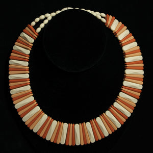 Avon Sirocco Stick Wide Collar Choker Necklace Vintage - Flotsam from Michigan  - 1