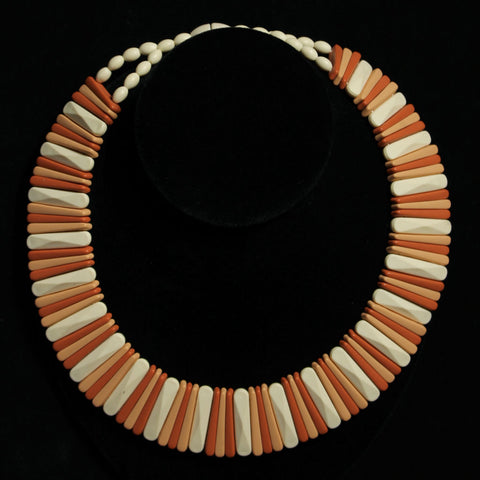 Avon Sirocco Stick Wide Collar Choker Necklace Vintage