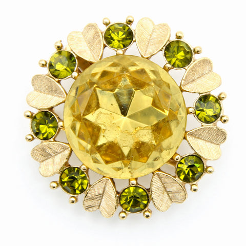 Avon 'Sun Brilliants' Vintage Brooch Pin