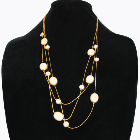 Avon 'Tailored Classic' White Necklace