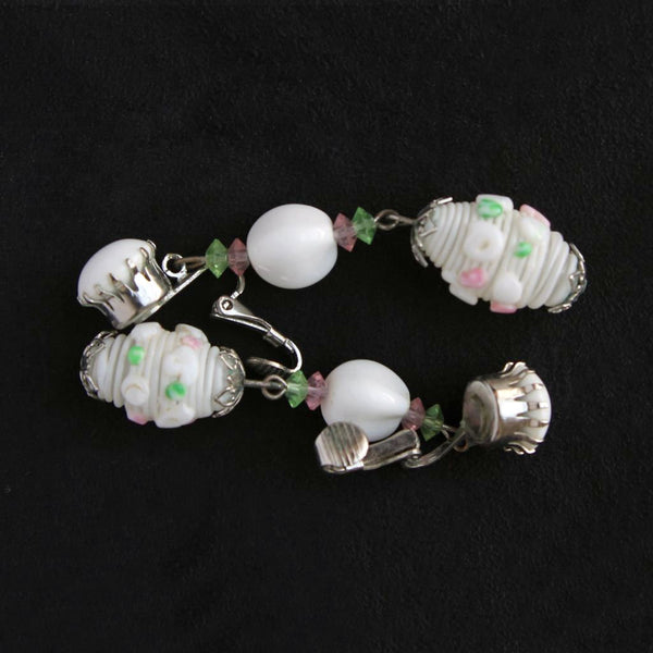 Boho Wedding Set Earrings - Flotsam from Michigan - 3