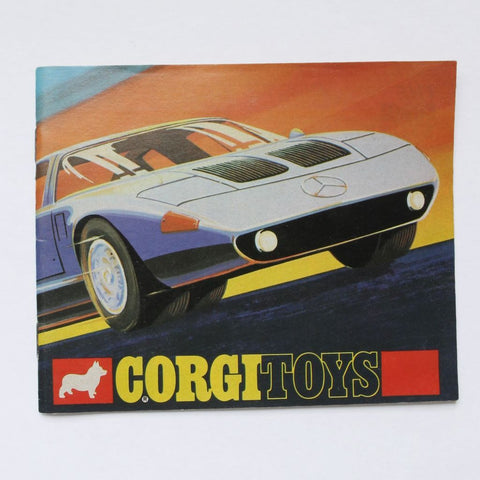 Corgi Toys Die Cast Cars Catalog 1970 VG+
