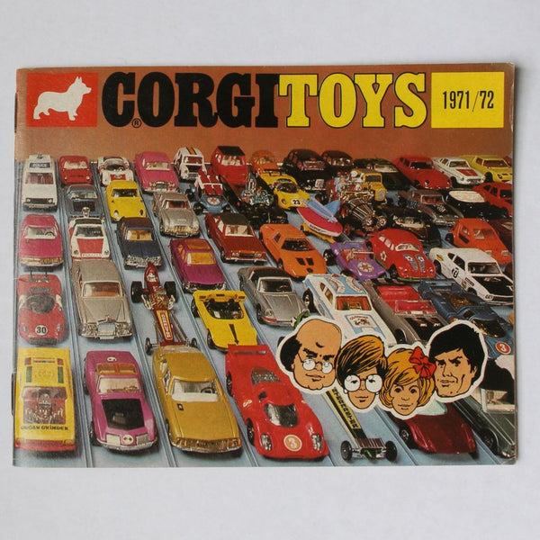Corgi Toys Die Cast Cars Catalog 1971/72 Very Good Condition - Flotsam from Michigan  - 1