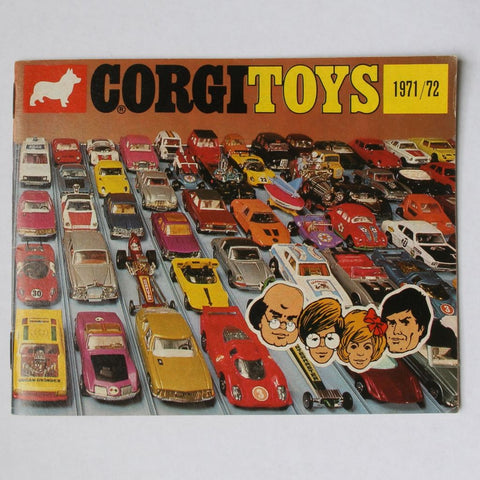 Corgi Toys Die Cast Cars Catalog 1971/72 Very Good Condition