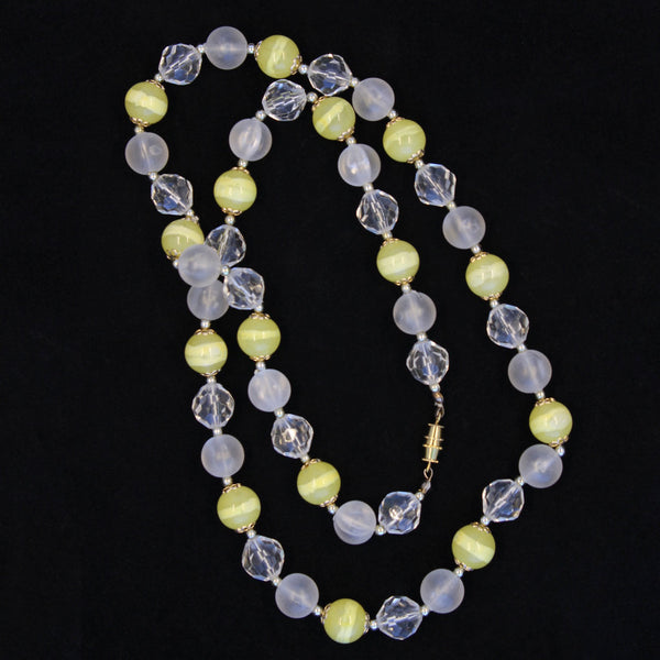 Iced Lemonade Necklace Whole - Flotsam from Michigan - 2