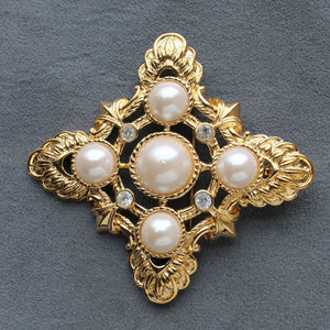 Avon Kenneth Jay Lane Renaissance Collection Brooch Pendant - Flotsam from Michigan - 1