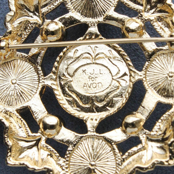 Avon Kenneth Jay Lane Renaissance Collection Brooch Signature - Flotsam from Michigan - 3