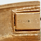 Kramer Aqua Bracelet signature - Flotsam from Michigan Vintage - 4