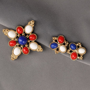 Sarah Coventry 'Americana' Brooch & Earrings Set - Flotsam from Michigan  - 1