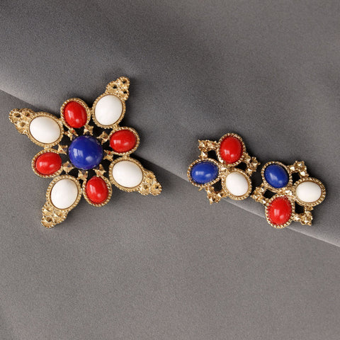 Sarah Coventry 'Americana' Brooch & Earrings Set