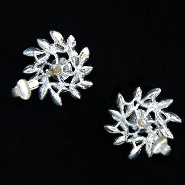 Sarah Coventry Evening Snowflake Vintage Brooch & Earrings Set - Flotsam from Michigan  - 7