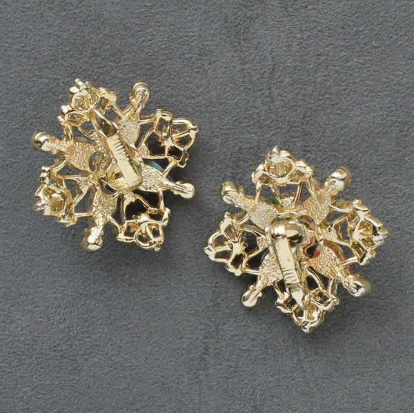 Sarah Coventry Galaxy Brooch & Earrings Set - Flotsam from Michigan  - 6