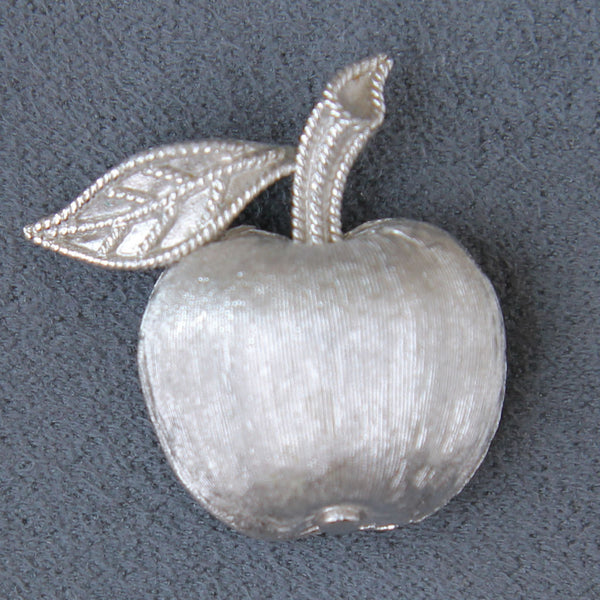 Trifari Apple Pin - Flotsam from Michigan - 1