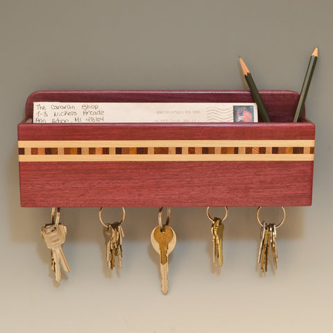 Wall Caddies with Key Chain Holder Magnets