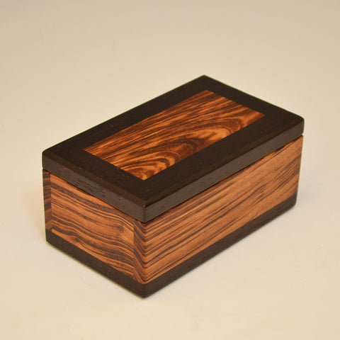 Tigerwood & Wenge Keepsake Box