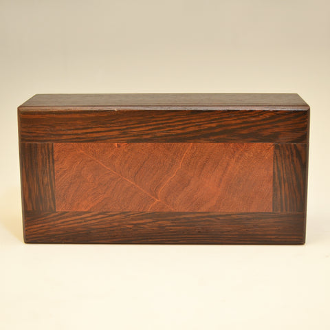 Wenge & Bubinga Medium Valet Box