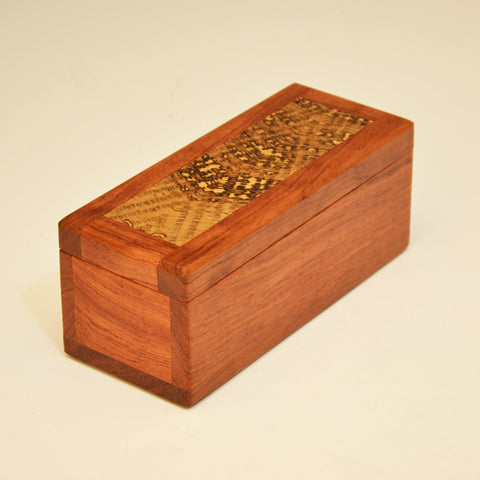 Bubinga & Spalted Oak Keepsake Box