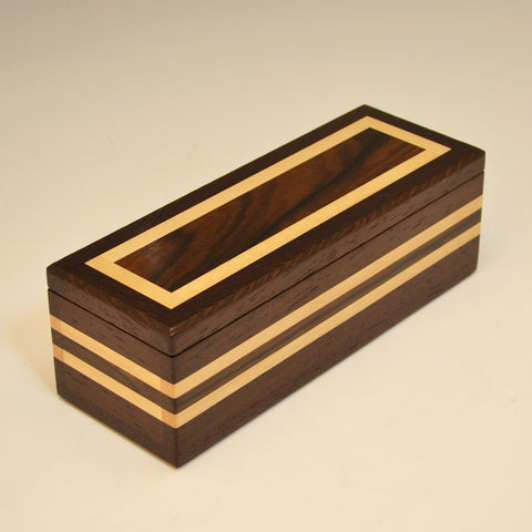 Wenge, Zircote & Maple Medium Valet Box