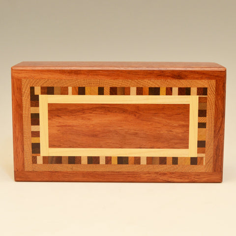 """Dana"" Bubinga Medium Valet Box"